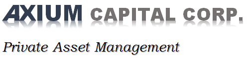 AXIUM CAPITAL CORP PRIVATE ASSET MANAGEMENT